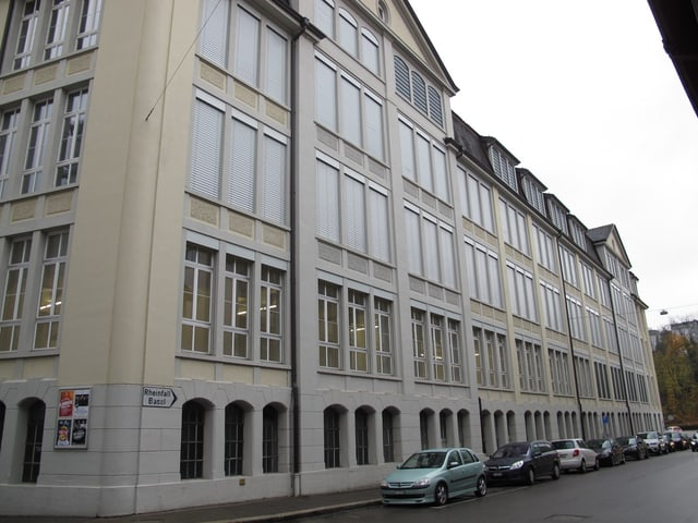 Das Kulturzentrum Kammgarn in Schaffhausen ist eine alte Fabrikhalle.