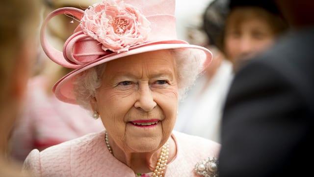 Porträt der Queen.