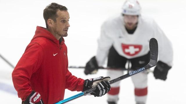 Trainer Patrick Fischer.