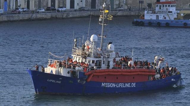 Das Schiff Lifeline