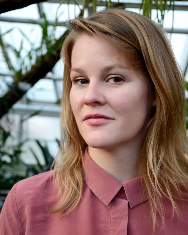 Autorin Theresia Enzensberger.