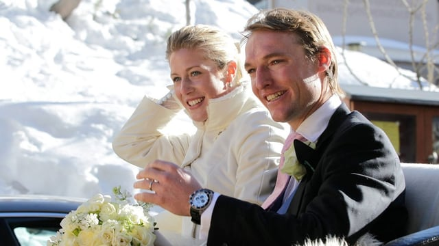 Laura Bechtolsheimer und Mark Tomlinson