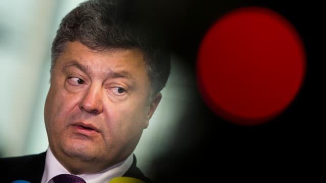 Il president da l'Ucraina Petro Poroschenko.