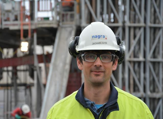 Michael Gysi, Geologe der Nagra.