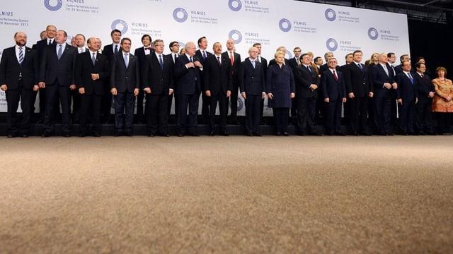 Gruppenfoto am Gipfel.