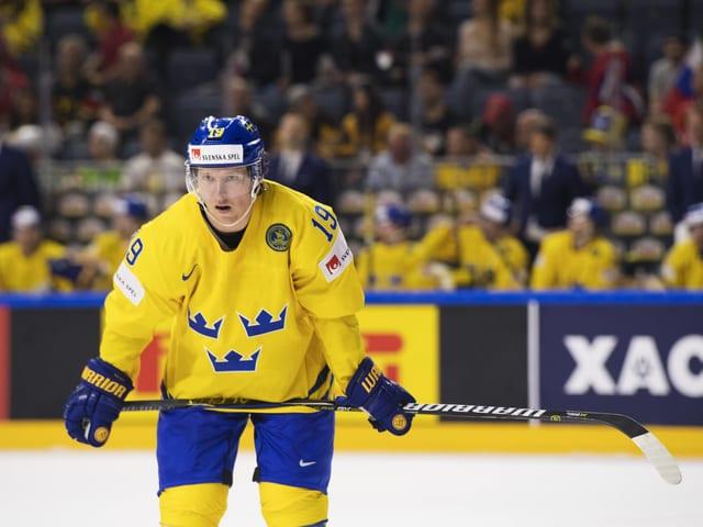 Der 29-jährige Stürmer der Washington Capitals verstärkte das WM-Team ab dem 6. Gruppenspiel. Er bringt die Erfahrung von 734 NHL-Partien mit.