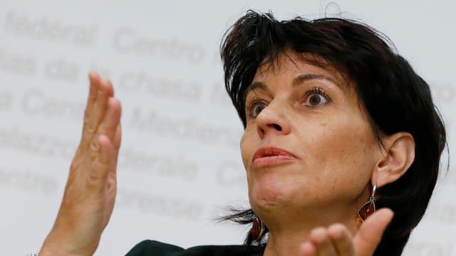 Umweltministerin Doris Leuthard