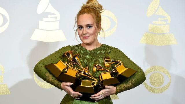 Mitschuldig am Grosserfolg von britischen Künstlern in den USA: Adele (Grammy Awards 2017)