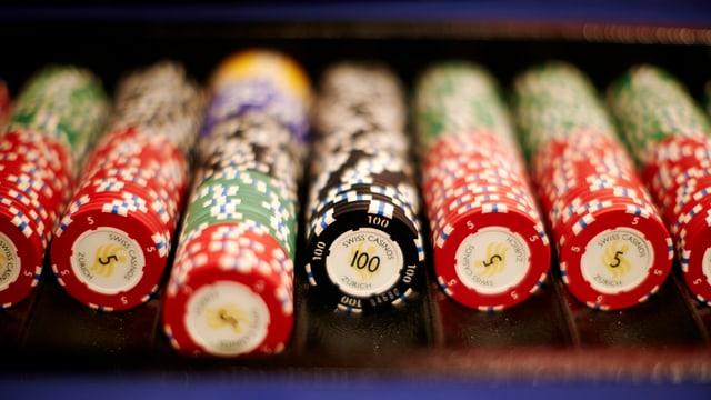 Spielhalle im Grand Casino Baden