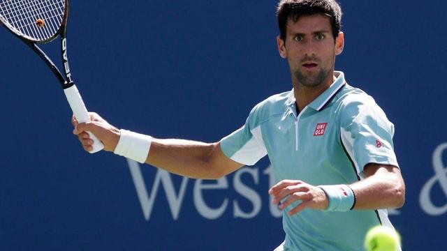 Novak Djokovic erteilte David Goffin in Cincinnati eine Lektion.
