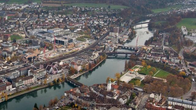 Luftaufnahme von Olten
