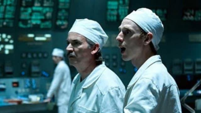 In der Kommandozentrale von Chernobyl