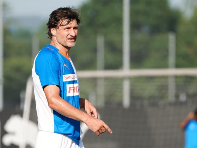 Veroljub Salatic: Der Mittelfeldspieler spielt neu für die Grasshoppers.