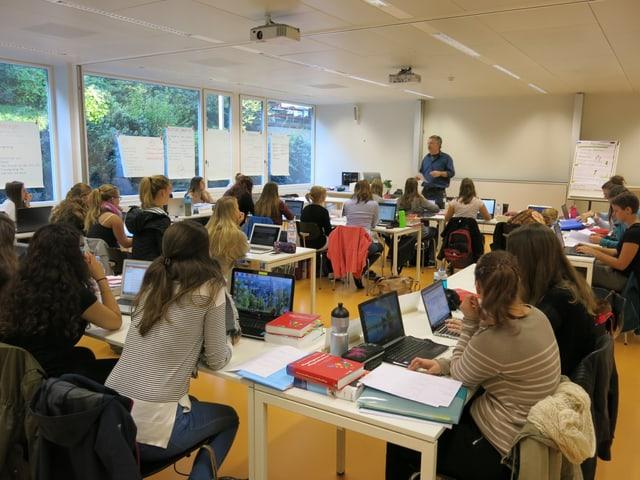 Blick ins Klassenzimmer