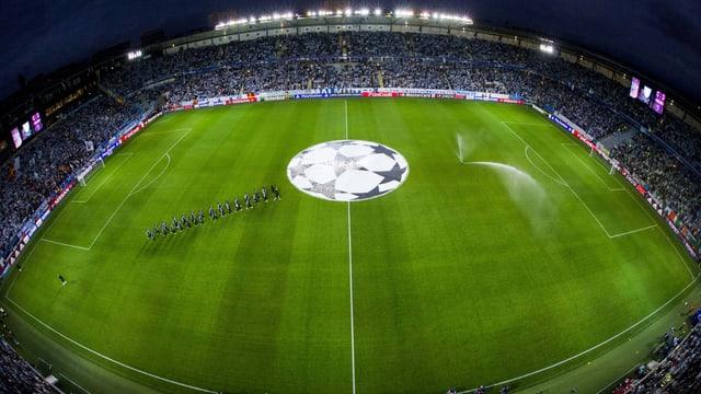 Das Swedbank-Stadion in Malmö.