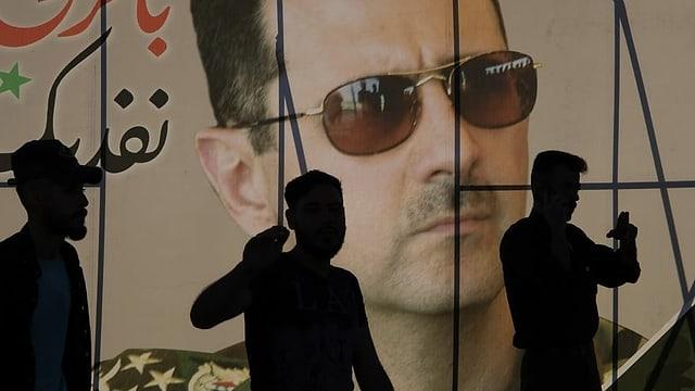 Wahlplakat Assads