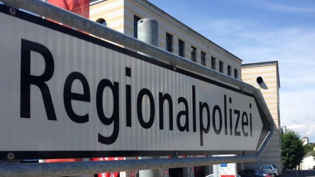 Wegweiser zur Regionalpolizei