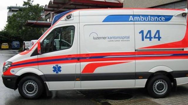 Ambulanzfahrzeug