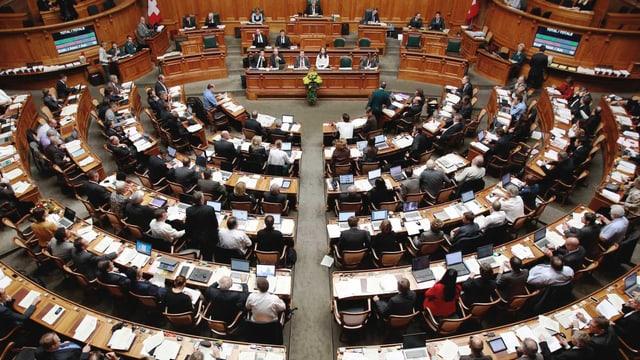 Der Nationalratssaal.