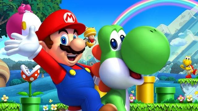 Kennen und lieben wir: Mario und Yoshi.