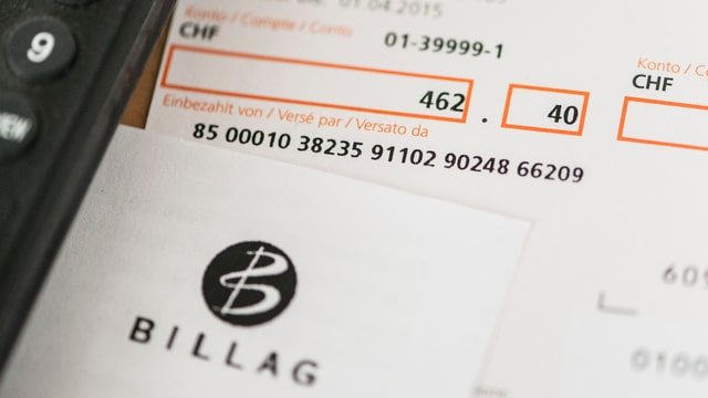 Billag-Rechnung