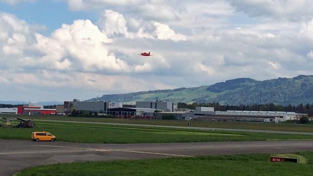 Flugplatz Emmen.