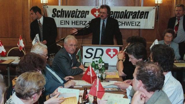 Parteiversammlung der Schweizer Demorakten