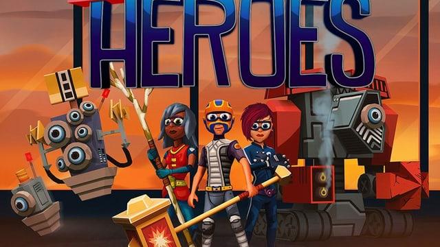 Superhelden eines Spiels