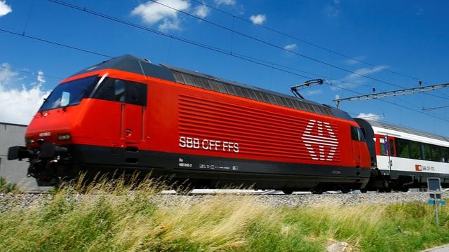 SBB-Wagen fährt