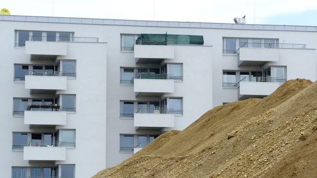 Neubau mit Mietwohnungen