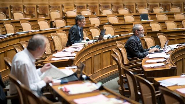Ils parlamentaris a Berna.