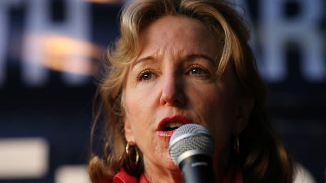Kay Hagan in Grossaufnahme