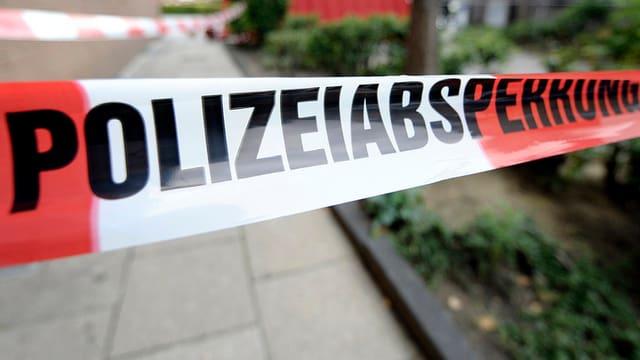 Polizeiabsperrungsband