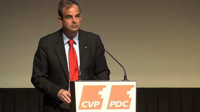 CVP-Parteipräsident Gerhard Pfister