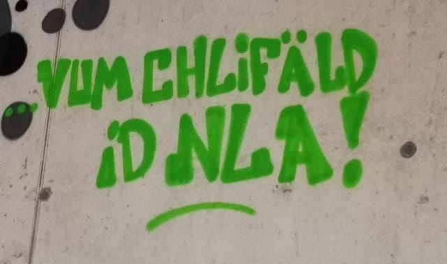 Der steile Aufstieg von Ad Astra ist auch in der Trainingshalle präsent. An einer Wand steht: «Vom Kleinfeld in die NLA!»