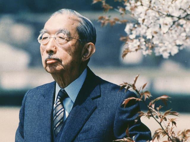 Hirohito 1986 – drei Jahre vor seinem Tod.