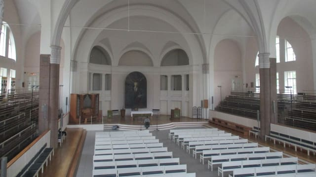 Eine Kirche von innen