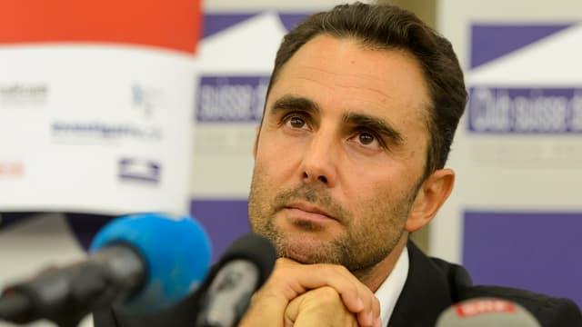 Hervé Falciani an einer Medienkonferenz Ende Oktober 2015