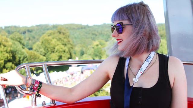 Tina Nägeli am Heitere Open Air 2016.
