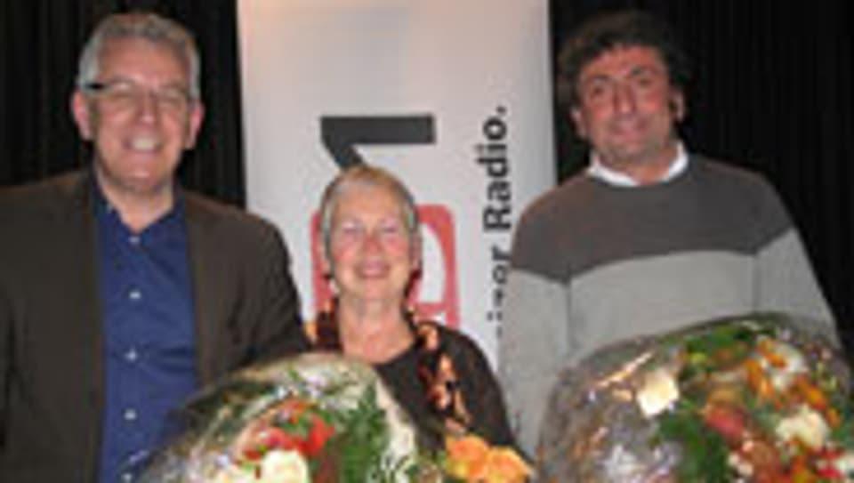 Röbi Koller, Berta Thurnheer, Meinrad Gschwend