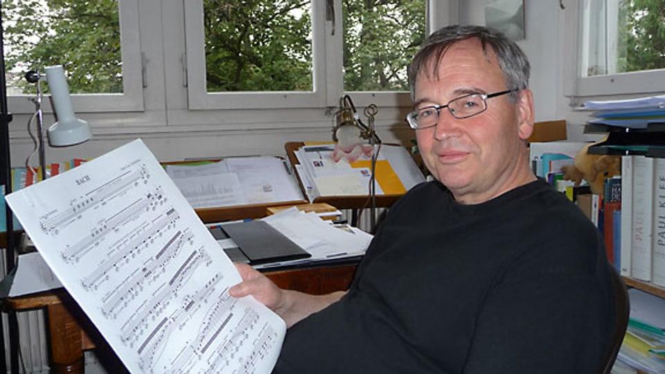 Der Komponist Jean-Luc Darbellay.