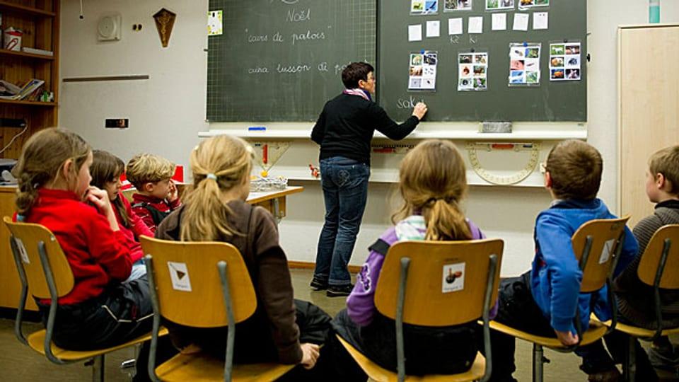 Integrativer Unterricht ist gemeinsames Lernen behinderter und nichtbehinderter Kinder.