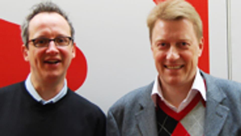 Hannes Hug (l.) und Rolf Tanner