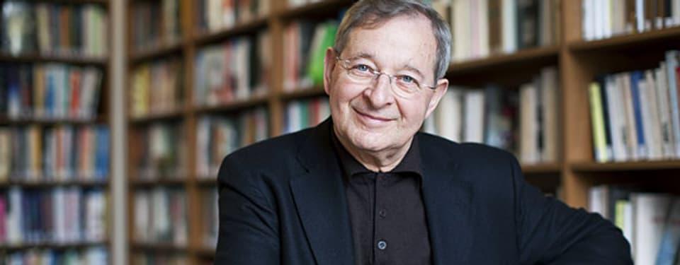 Péter Nádas zu Gast im Zürcher Literaturhaus, 2012.