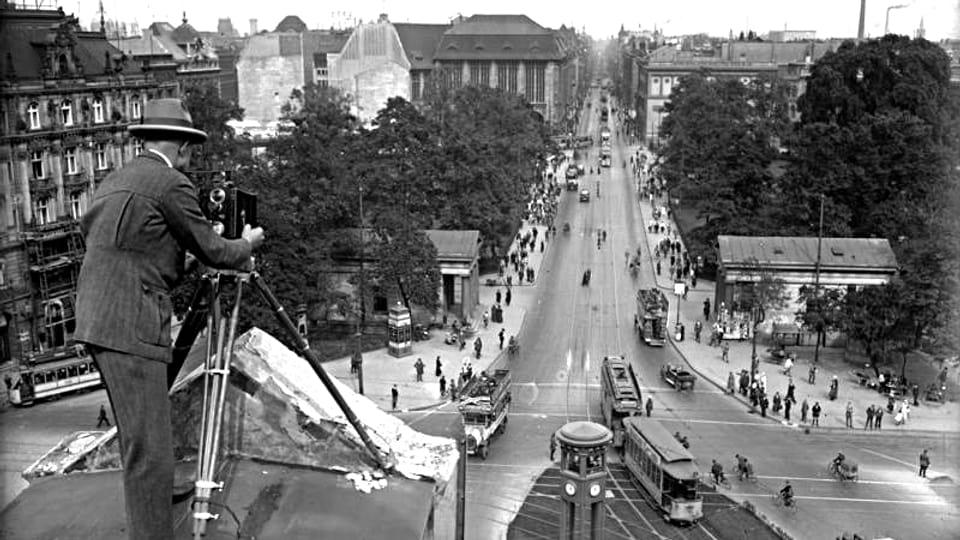 Potsdamer Platz in Berlin, 1926.
