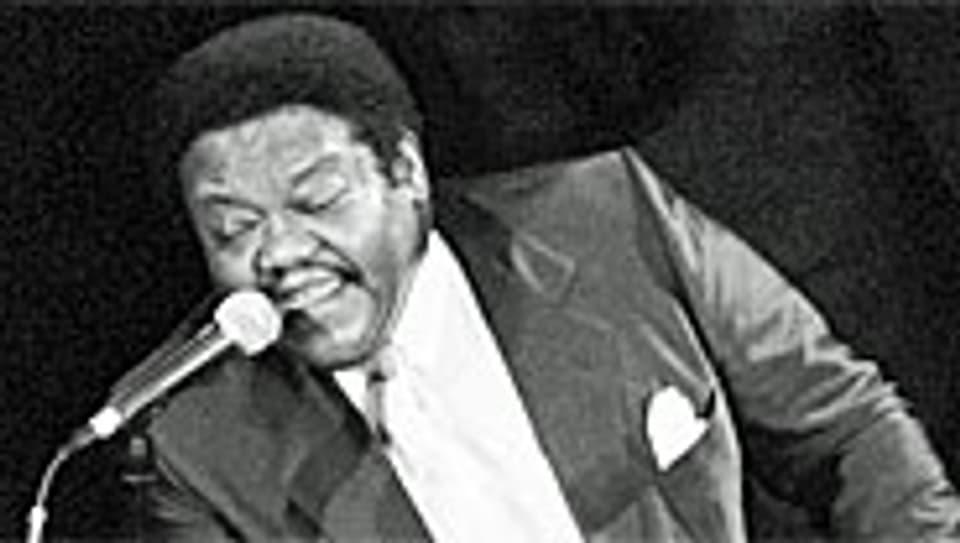 Fats Domino (geb. 1928) im Jahr 1992.