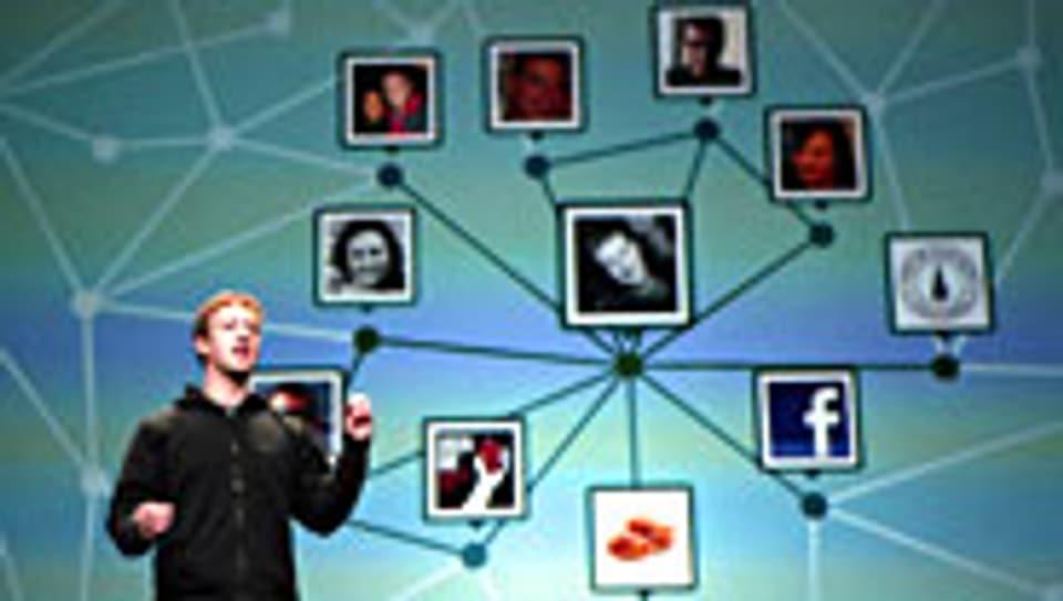 Gründer von Facebook: Mark Zuckerberg.