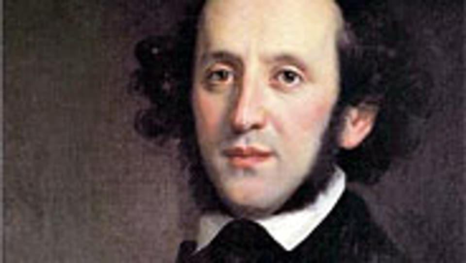 Felix Mendelssohn Bartholdy, porträtiert 1846 von Edward Magnus.