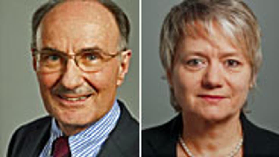 Felix Gutzwiller, Jacqueline Fehr