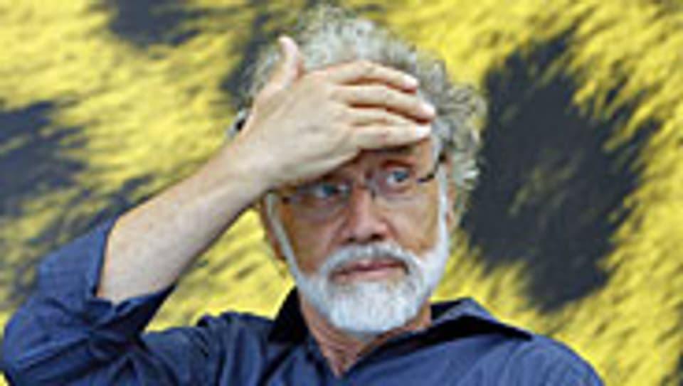 Markus Imhoof am 65. Locarno Filmfestival.
